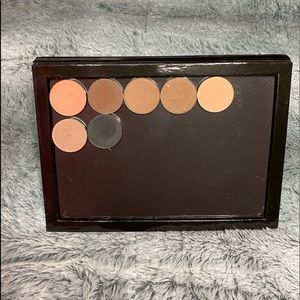 Magnetic Palette and Coastal Scents Eyeshadows